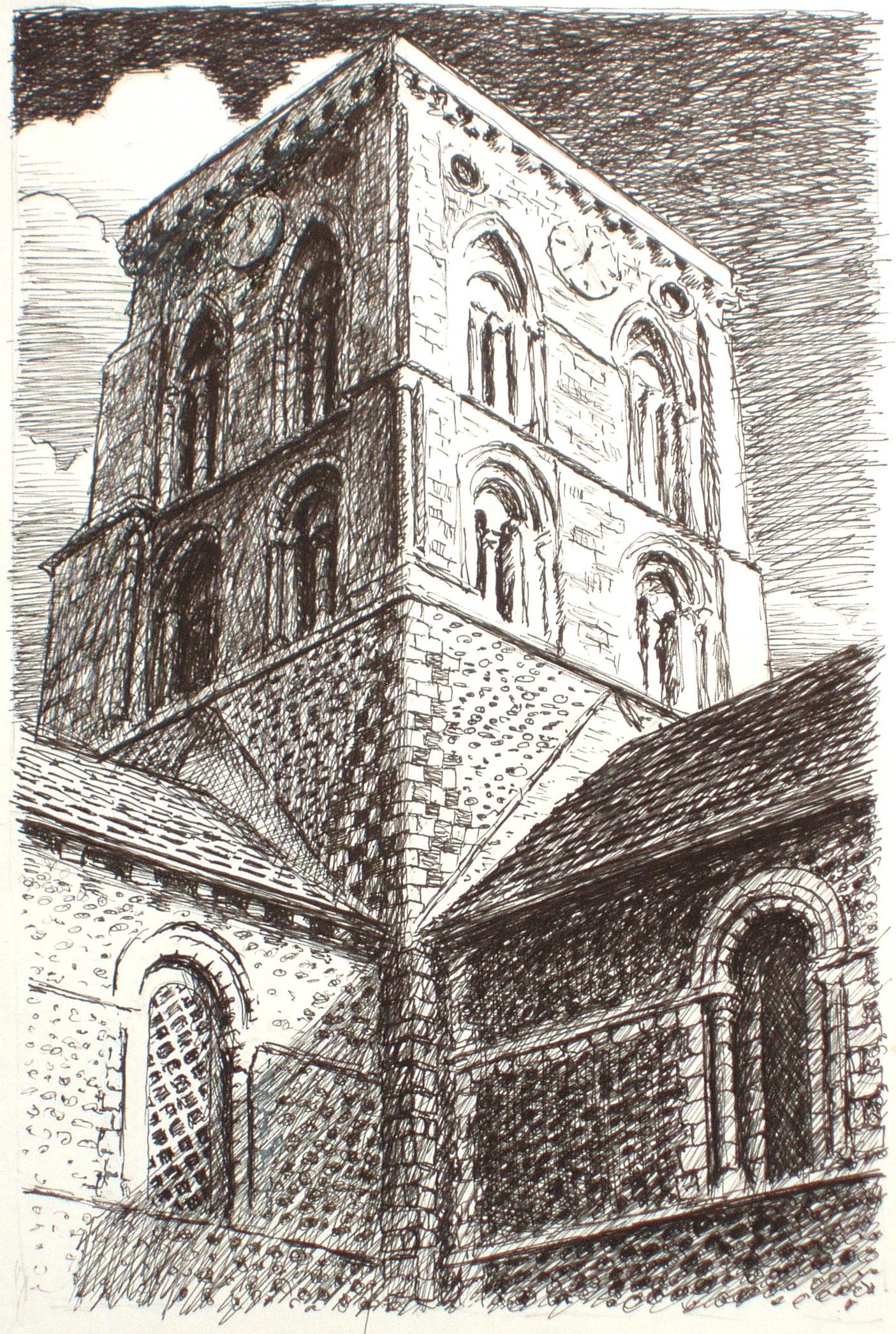 Pen drawings by paul dier for Cool pen drawings
